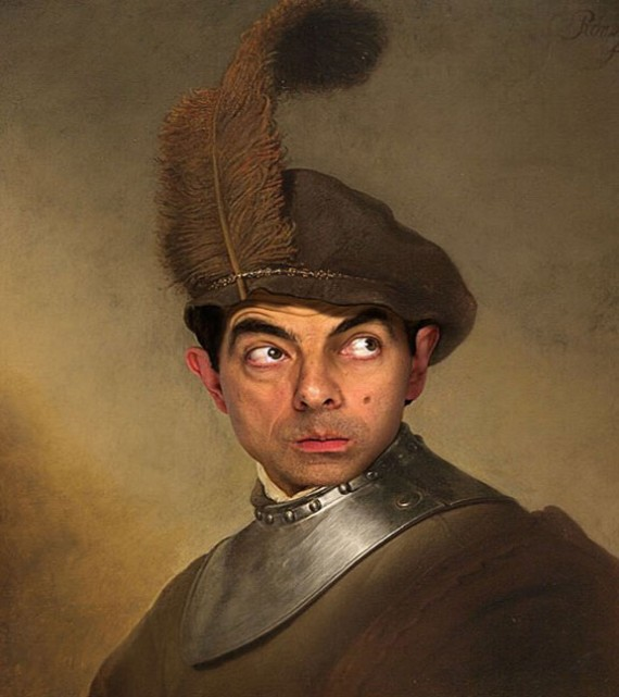 Top 20 Mr. Bean Funny Face Swaps Photos - TopBestPics.com