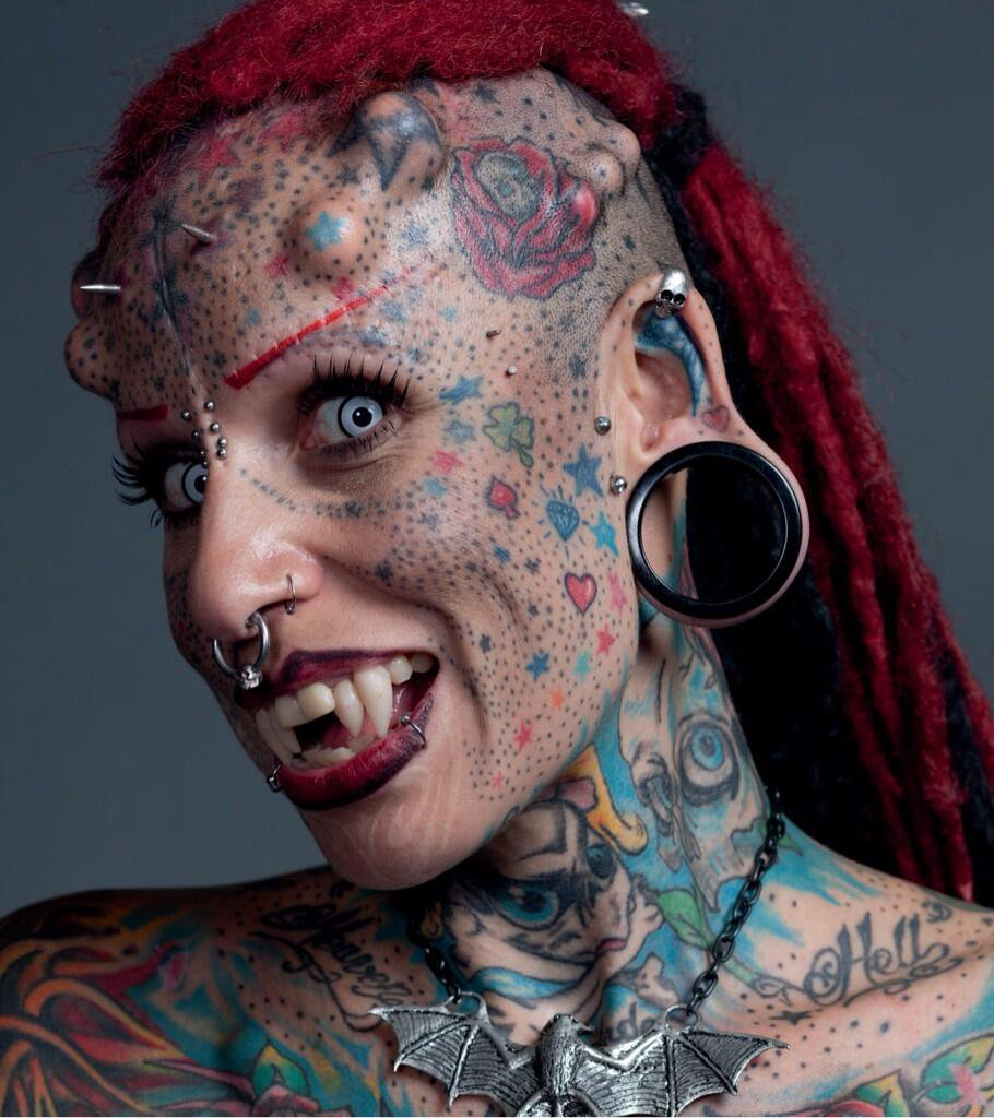 ugly people tattoo