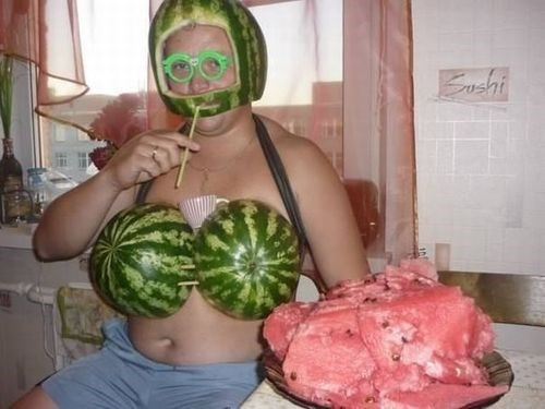 funny pictures watermelon
