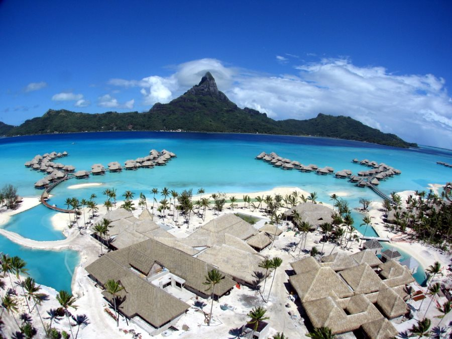 best vacation islands in the world, Bora-Bora Island, Tahiti