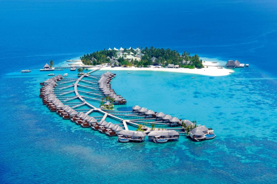 best vacation islands in the world, Maldives