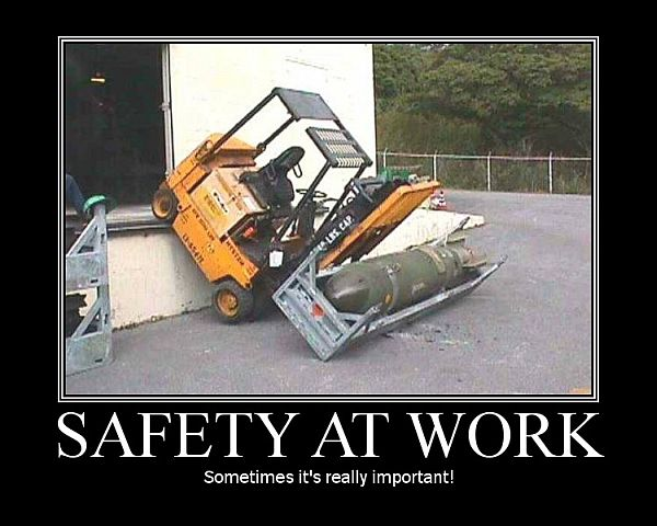 safety at work funny pics