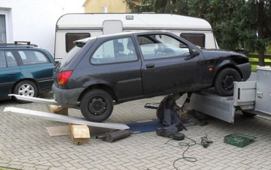 Funniest Car Repair Fails