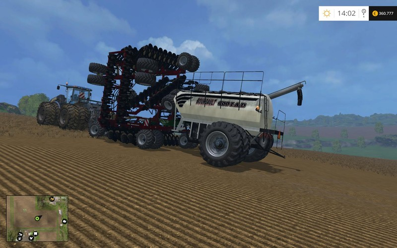 best farming simulator mods Bourgault IAD600