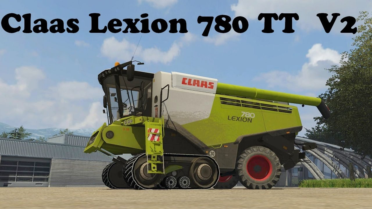 best farming simulator mods Claas Lexion 780 TT v2