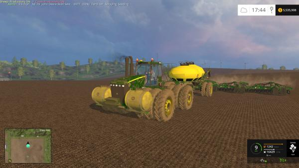 best farming simulator mods JD 9630 SELECTABLE