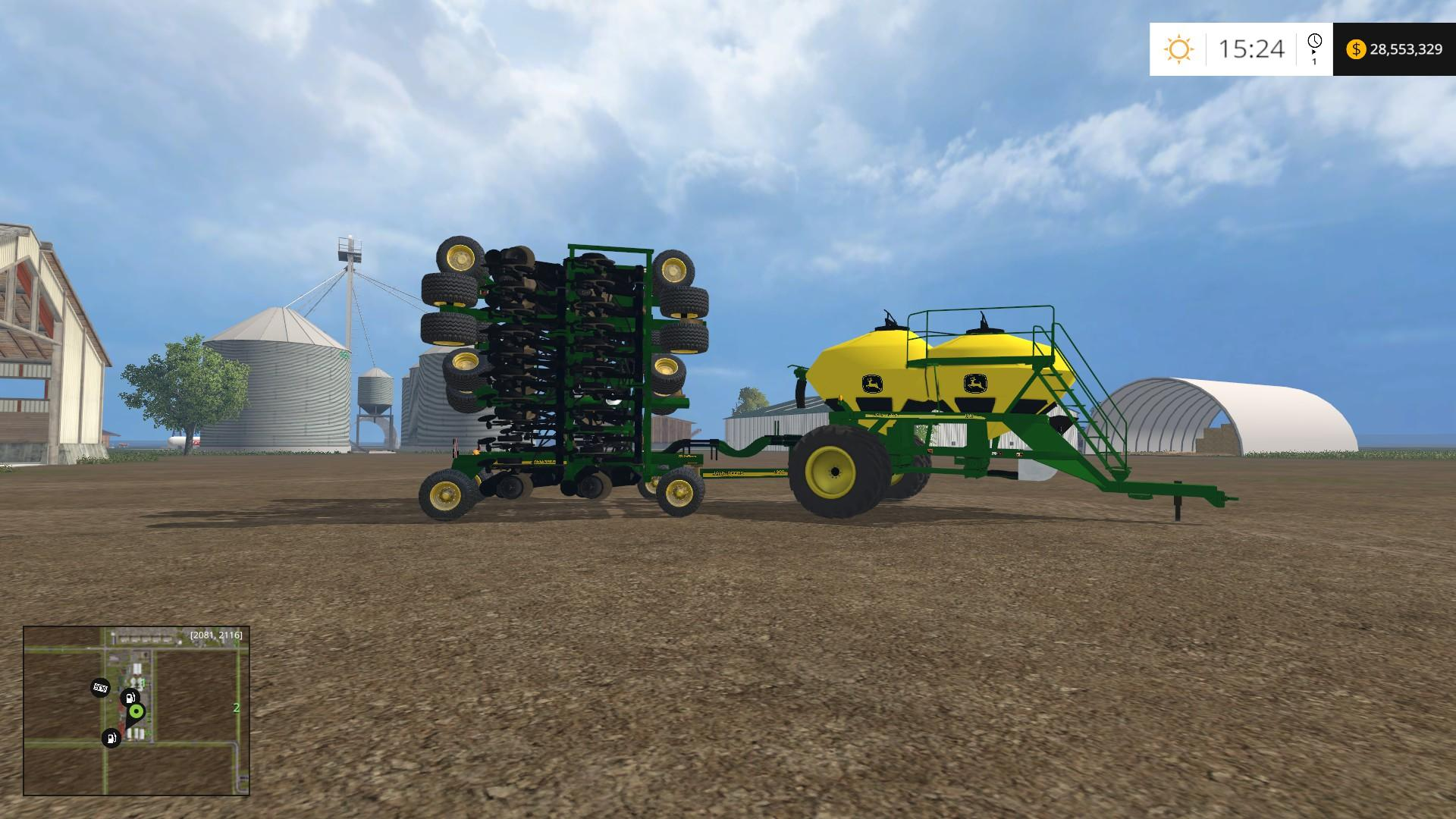 best farming simulator mods JD AIR SEEDER