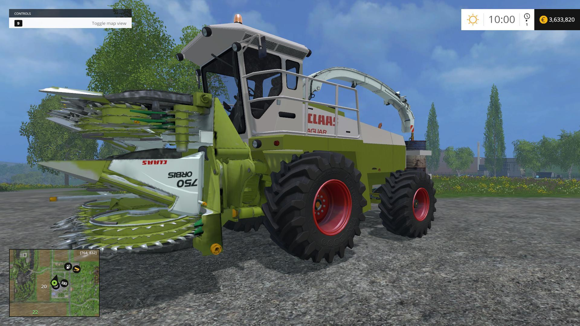 best farming simulator mods claas jaguar
