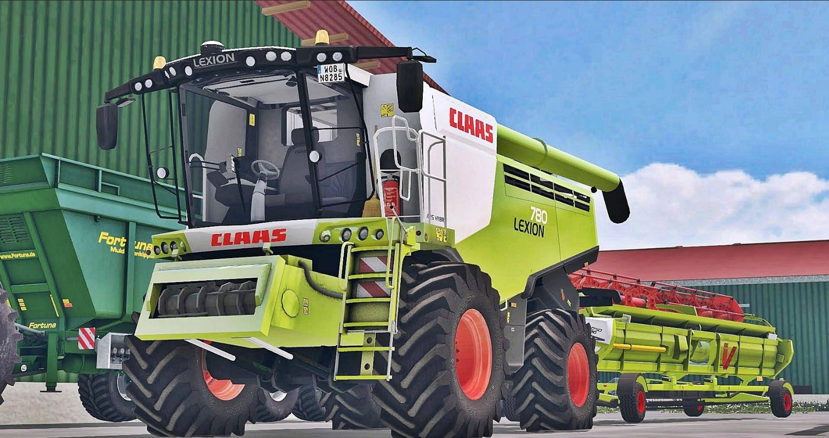 best farming simulator mods claas lexion