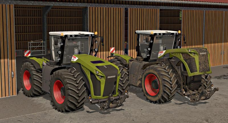 best farming simulator mods claas xerion 4000 5000 3rd generation
