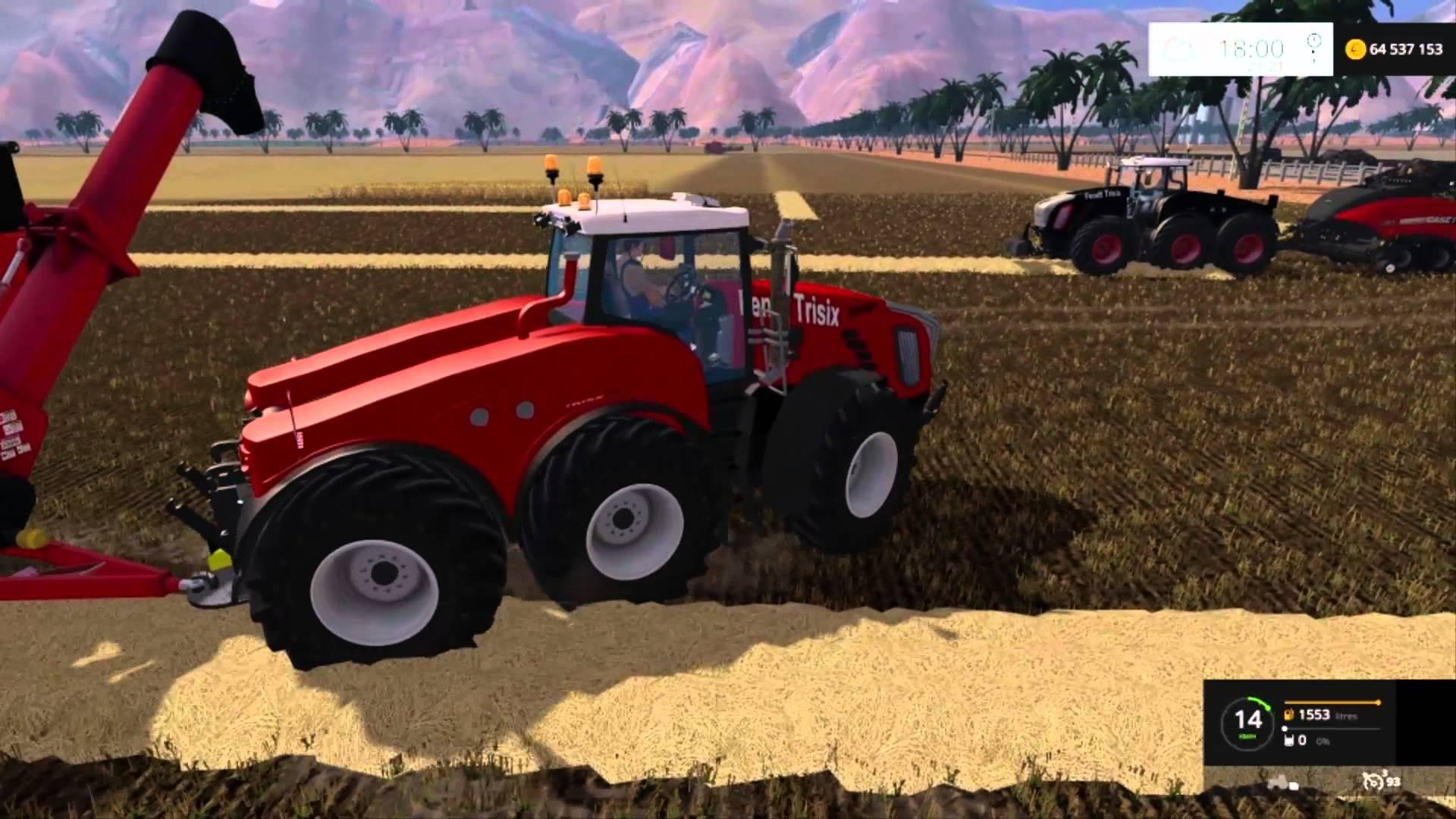 best farming simulator mods fendt trisix
