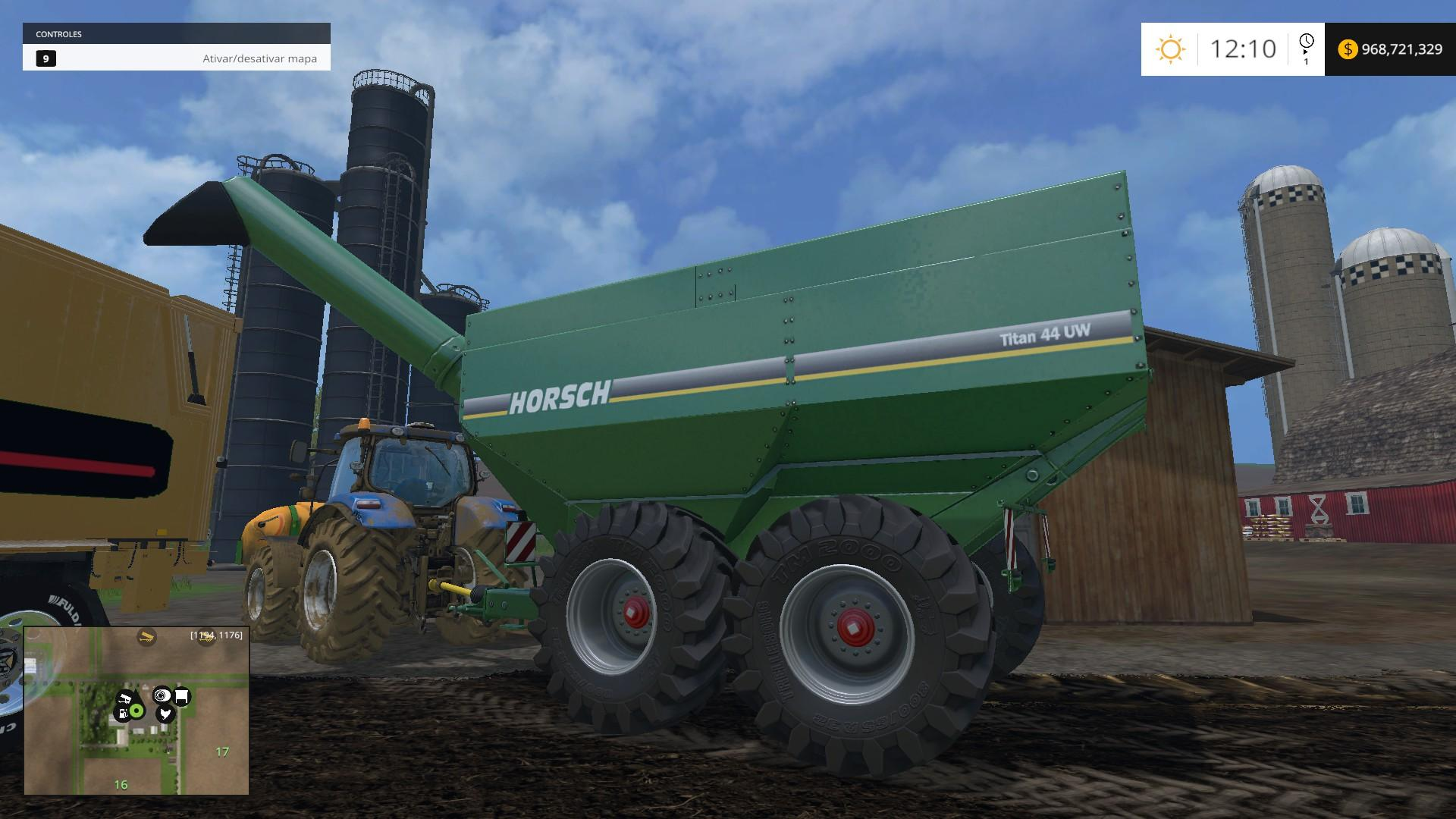 best farming simulator mods horsch titan 34