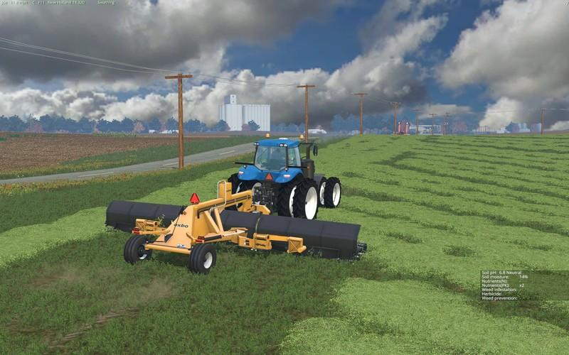 best farming simulator mods lindbejb oxbo 334 merger