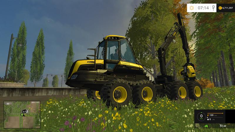 best farming simulator mods ponsse bear