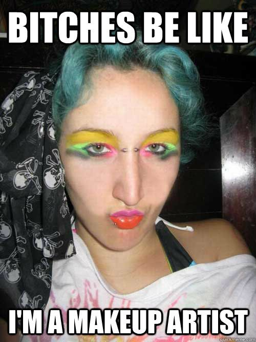 makeup fail funny pictures