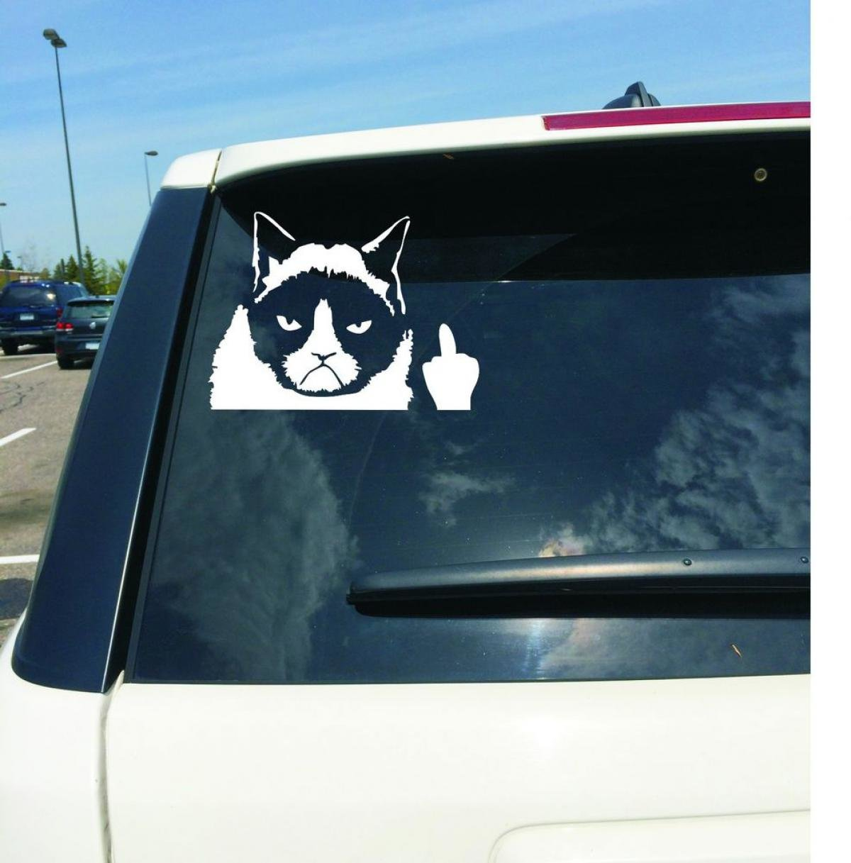 funny cars stickers