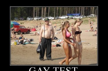 funny gay test