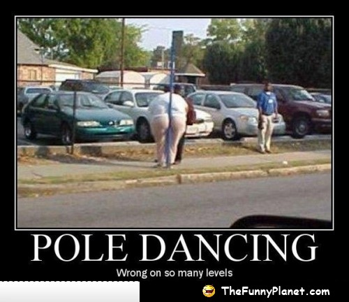 funny pole dancing