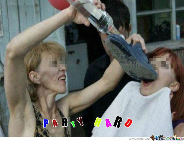 funny pictures party hard