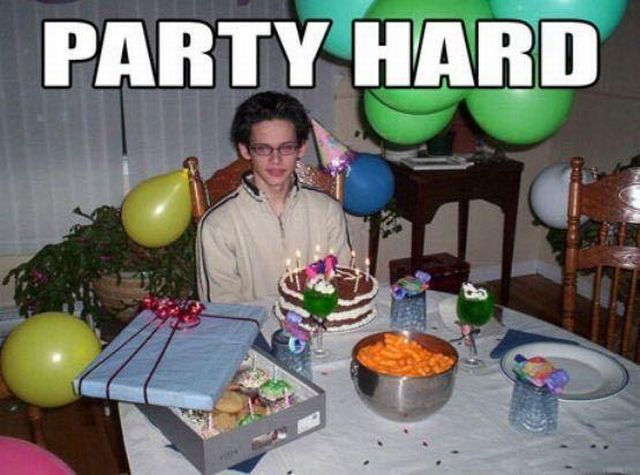 party hard funny pictures