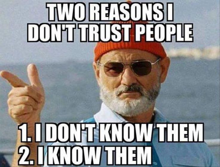 why i dont trust people