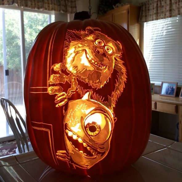 amazing halloween pumpkin carvings