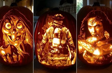 Amazing Not Photoshopped Photos - image amazing-halloween-pumpkin-carvings-380x250 on https://www.topbestpics.com