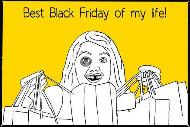 funny balck friday