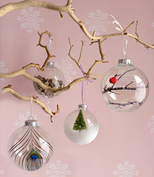 simple christmas decorations ideas - Homemade Christmas Decorations Ideas