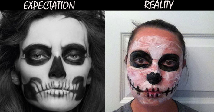 funny pictures expectation reality