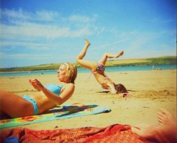 epic beach fails funny pictures