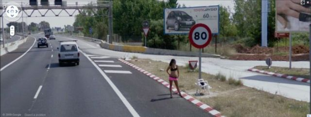 funny pictures google street view fails