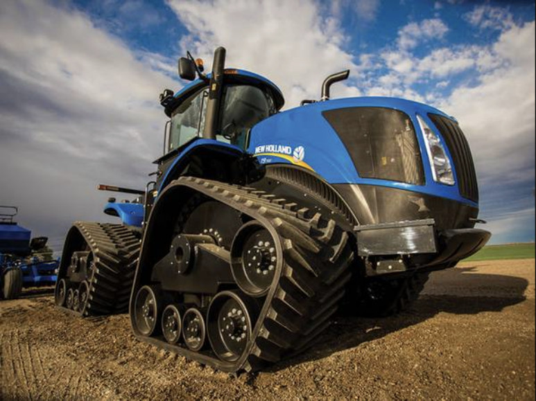 New Holland T9.700 biggest tractors in the world