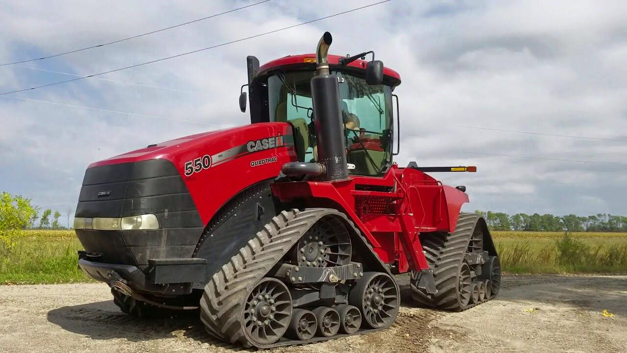 case stx550 biggest tractors in the world