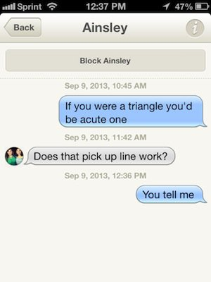 funny pick up lines jokes